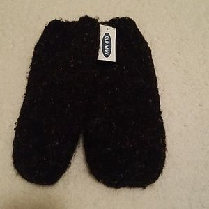 NWT Old Navy fuzzy mittens